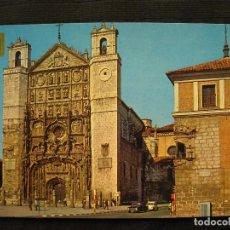 Postais: POSTAL VALLADOLID - FACHADA DE SAN PABLO Y ESQUINA DIPUTACION.. Lote 99095211