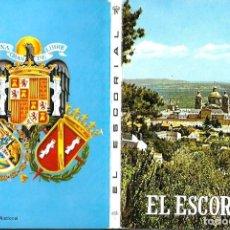 Postales: BLOC DE 12 POSTALES DE EL ESCORIAL - MADRID. Lote 99466847