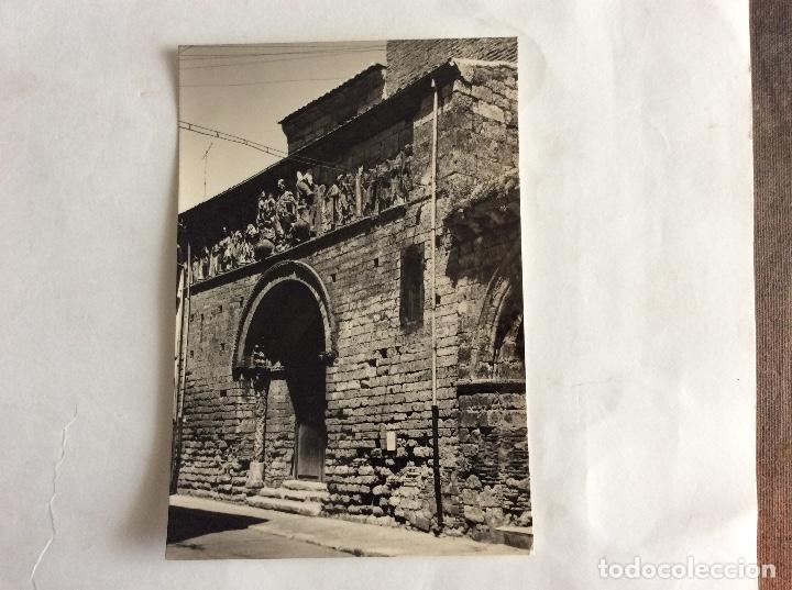 POSTAL FOTOGRÁFICA. PORTADA DE SANTIAGO. CARRIÓN DE LOS CONDES. PALENCIA. (Postales - España - Castilla y León Moderna (desde 1940))