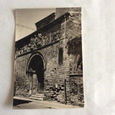 Postales: POSTAL FOTOGRÁFICA. PORTADA DE SANTIAGO. CARRIÓN DE LOS CONDES. PALENCIA.. Lote 99513411