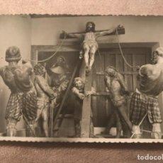 Postales: ANTIGUA POSTAL VALLADOLID PASO DE LA ELEVACIÓN DE LA CRUZ NUM 97. Lote 99893531
