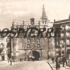 Postales: POSTAL, BURGOS, ARCO Y PUENTE DE SANTA MARIA, ED. GARRABELLA, CIRCULADA. Lote 100000103