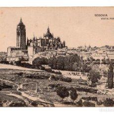 Postales: POSTAL SEGOVIA. VISTA PARCIAL. FOTOTIPIA DE HAUSER Y MENET.. Lote 100167659