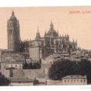 Postales: POSTAL - SEGOVIA - LA CATEDRAL. FOTOTIPIA THOMAS. BARCELONA. Lote 100170007
