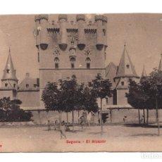 Postales: POSTAL - SEGOVIA - EL ALCÁZAR. Lote 100170219