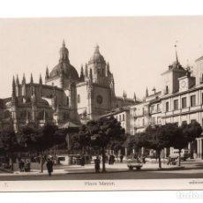 Postales: POSTAL FOTOGRAFICA - SEGOVIA - PLAZA MAYOR. EDICIONES ARRIBAS. Lote 100170331