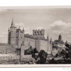 Postales: POSTAL FOTOGRAFICA - SEGOVIA - EL ALCÁZAR. Lote 100170899
