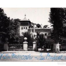 Postales: POSTAL DEL ALBERGUE DE LA FALANGE SECCIÓN FEMENINA. HOTEL DE PIERRE. SAN RAFAEL, SEGOVIA.. Lote 100233655