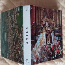 Postales: LIBRITO DE POSTALES DE ÁVILA (24 POSTALES) ENTRE LOS AÑOS 50 Y 60 (VER FOTO). Lote 100450171