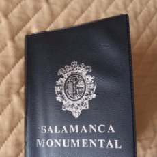 Postales: LIBRITO ENCUADERNADO DE POSTALES DE SALAMANCA (20 POSTALES) ENTRE LOS AÑOS 50 Y 60 (VER FOTO). Lote 100450395
