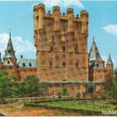 Postales: SEGOVIA, FACHADA PRINCIPAL DEL ALCAZAR. Lote 100501375