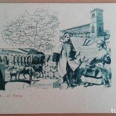 Postales: POSTAL COLECCION ESPAÑA Nº 41 SORIA MAPA . Lote 100572463