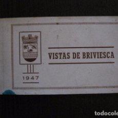 Postales: BRIVIESCA - BURGOS -COLECCION 8 VISTAS - 1947 -VER FOTOS-URBANO HERMOSILLA -(50.631). Lote 101081491