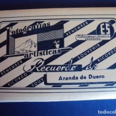 Postales: (PS-53573)BLOCK DE 10 POSTALES RECUERDO DE ARANDA DE DUERO-EDICIONES SICILIA. Lote 101185787