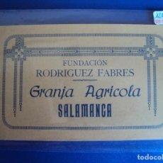 Postales: (PS-56816)BLOCK DE 10 POSTALES DE LA FUNDACION RODRIGUEZ FABRES - GRANJA AGRICOLA - SALAMANCA. Lote 119063526