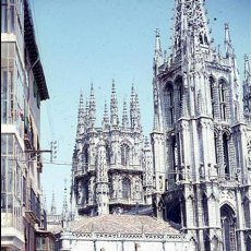 Postales: DIAPOSITIVA ESPAÑA BURGOS 1967 AGFACOLOR 35MM SLIDE SPAIN PHOTO FOTO. Lote 102139391