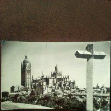Postales: POSTAL SEGOVIA LA CATEDRAL N°16 CIRCULADA. Lote 102482836