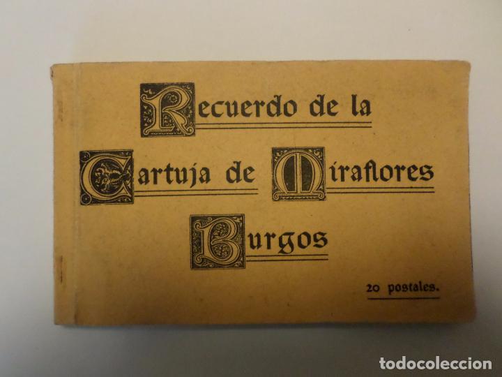 POSTALES CARTUJA DE MIRAFLORES (Postales - España - Castilla y León Antigua (hasta 1939))