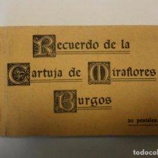 Postales: POSTALES CARTUJA DE MIRAFLORES. Lote 102708707