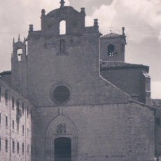 Postales: POSTAL MONASTERIO DE SAN PEDRO DE CARDEÑA - BURGOS - FACHADA SUR - 12 GARRABELLA. Lote 103115923