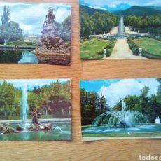 Postales: POSTAL LA GRANJA DE SAN ILDEFONSO(SEGOVIA)AÑO-65. Lote 103395511