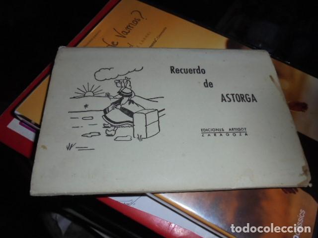 CUADERNILLO LIBRITO ACORDEON RECUERDO DE ASTORGA - 10 POSTALES - JAMAS USADO - ARTIGOT (Postales - España - Castilla y León Moderna (desde 1940))
