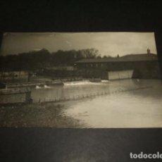 Postales: VALLADOLID 1924 INUNDACIONES DEL RIO ESGUEVA POSTA FOTOGRAFICA MUY RARA . Lote 103991707