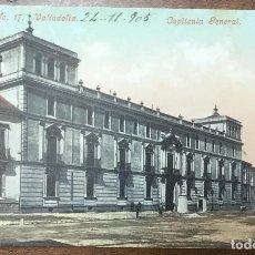 Postales: Nº. 17 VALLADOLID. CAPITANIA GENERAL. CIRCULADA EN 1905. Lote 104066455