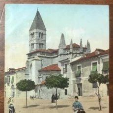 Postales: Nº. 7 VALLADOLID. IGLESIA DE NTRA. SRA. DE LA ANTIGUA. CIRCULADA EN 1905.. Lote 104067655