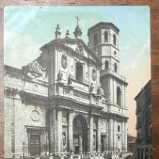 Postales: Nº. 6 VALLADOLID. LA CATEDRAL. CIRCULADA EN 1905.. Lote 104067891