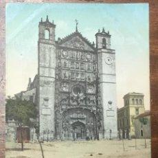 Postales: Nº. 12 VALLADOLID. FACHADA DE SN. PABLO. CIRCULADA EN 1905.. Lote 104068715