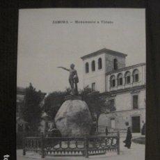 Cartes Postales: ZAMORA- POSTAL ANTIGUA- MONUMENTO VIRIATO - CLICHE CONTI - SALVADOR ALVAREZ -VER REVERSO -(51.004). Lote 104091371