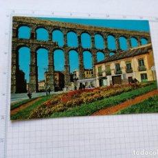 Postales: POSTAL Nº 802 - CASTILLA LEON - SEGOVIA, ACUEDUCTO ROMANO - ED. RO 1966. Lote 104218843