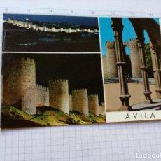 Postales: POSTAL Nº 51 - CASTILLA LEON - AVILA, DETALLES DE LA CIUDAD - 1965. Lote 104220063