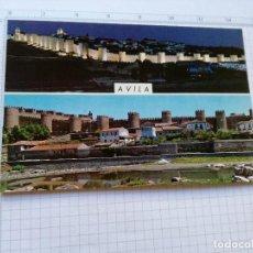 Postales: POSTAL Nº 54 - CASTILLA LEON - AVILA, DETALLES DE LA CIUDAD - ED. GF 1965. Lote 104220235