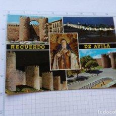 Postales: POSTAL Nº 50 - CASTILLA LEON - AVILA, DETALLES DE LA CIUDAD - ED. GF 1965. Lote 104220275