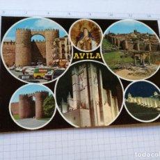 Postales: POSTAL Nº 76 - CASTILLA LEON - AVILA, BELLEZAS DE LA CIUDAD - ED. GF 1972. Lote 104220431