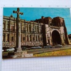 Postales: POSTAL - CASTILLA LEON - LEON, HOSTAL SAN MARCOS - ED. FITER 1969. Lote 104220991