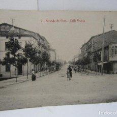 Postales: POSTAL MIRANDA DE EBRO (CALLE VITORIA) M. PERALTA. Lote 104260303
