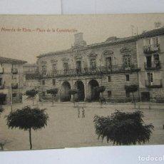 Postales: POSTAL MIRANDA DE EBRO (PLAZA DE LA CONSTITUCIÓN) M. PERALTA. Lote 104261407