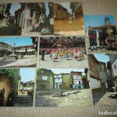 Postales: LA ALBERCA, SALAMANCA, LOTE DE 9 POSTALES. DISTRIBUCIONES STVDIO BEJAR. Lote 104290039