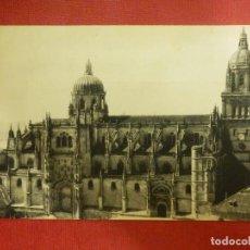 Postales: POSTAL - ESPAÑA - SALAMANCA - LA CATEDRAL - HUECOGRABADO VASCO - JOSE Mª DE MINGE. Lote 104326519