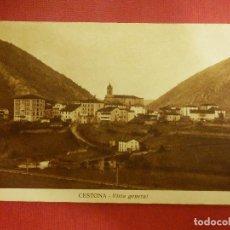 Postales: POSTAL - ESPAÑA - SAN SEBASTIAN - CESTONA - VISTA GENERAL - EDICIONES ZUBIAURRA - ESCRITA. Lote 104326831