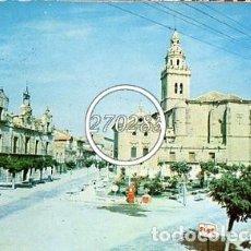 Cartes Postales: NAVA DEL REY (VALLADOLID) PLAZA DE ESPAÑA - VARELA - CIRCULADA CON SELLO - 1969. Lote 104526183
