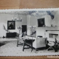 Postales: POSTAL MEDINA DEL CAMPO VALLADOLID CASTILLO SALON. Lote 105589807