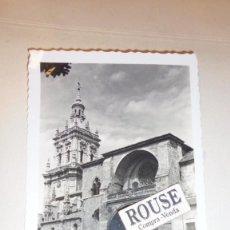 Postales: 5.- BURGO DE OSMA ( SORIA ) CATEDRAL EDC. ARRIBAS CIRCULADA 1958- 14X9 CM. . Lote 105917067