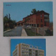 Postales: DOS POSTALES DE SORIA. Lote 105982951