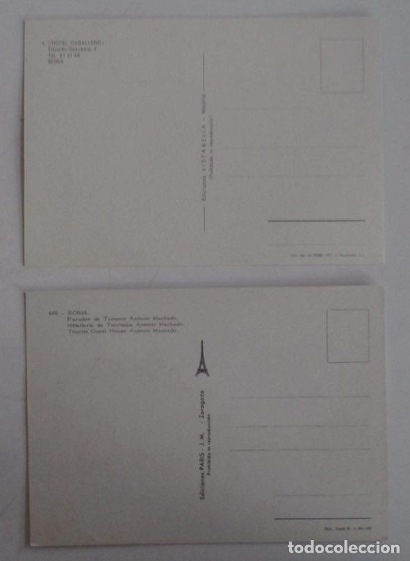 Postales: DOS POSTALES DE SORIA - Foto 2 - 105982951