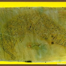 Postales: POSTAL SORIA - PLANO RUINAS DE NUMANCIA. Lote 106039955