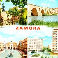 Postales: ZAMORA -DIVERSAS VISTAS- 1967 (EDICIONES PARÍS Nº 375) SIN CIRCULAR / P-119. Lote 88326436